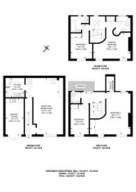 Large floorplan for Colbeck Mews, South Kensington, SW7