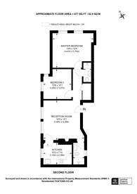 Large floorplan for Stapleton Hall Road, Stroud Green, N4