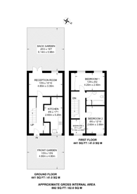 Large floorplan for Ivanhoe House, Grove Road, Bow, E3
