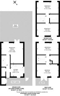 Large floorplan for Wadeson Street, Bethnal Green, E2