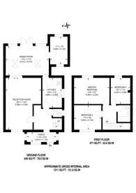 Large floorplan for Pine Gardens, Eastcote, HA4