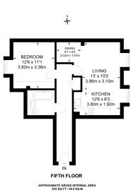 Large floorplan for Esther Anne Place, Angel, N1