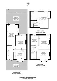 Large floorplan for Lower Richmond Road, Richmond, TW9