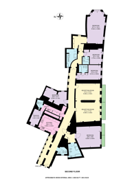 Large floorplan for Kensington Gore, South Kensington, SW7