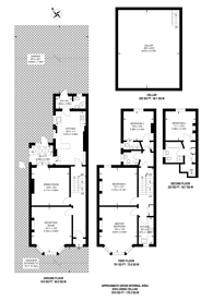 Large floorplan for St Andrews Grove, Stoke Newington, N16