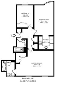 Large floorplan for Lisson Grove, Lisson Grove, NW8