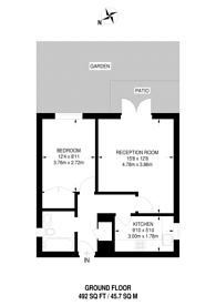 Large floorplan for Assisi Court, Harrow Road, North Wembley, HA0