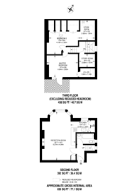 Large floorplan for Garlinge Road, West Hampstead, NW2
