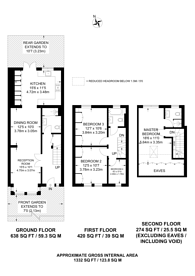 Large floorplan for Chesterford Road, Manor Park, E12