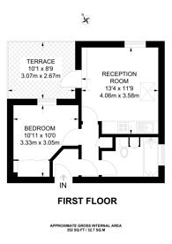 Large floorplan for Battersea High Street, Battersea Square, SW11