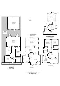 Large floorplan for Cranbourne Gardens, Temple Fortune, NW11