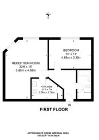 Large floorplan for Dingley Road, Islington, EC1V