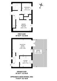 Large floorplan for Sedgmoor Place, Camberwell, SE5