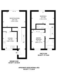 Large floorplan for Aspen Drive, Sudbury, HA0