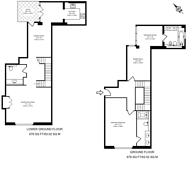 Large floorplan for Douglas House, Westminster, SW1P