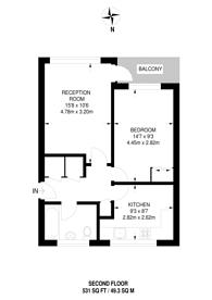 Large floorplan for Park Barn Parade, Southway, Guildford, GU2