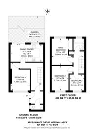 Large floorplan for Guildford Park Avenue, Guildford, GU2