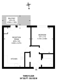 Large floorplan for Betts Way, Anerley, SE20
