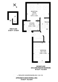 Large floorplan for Hearnville Road, Balham, SW12