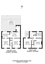 Large floorplan for Mead Place, Central Croydon, CR0