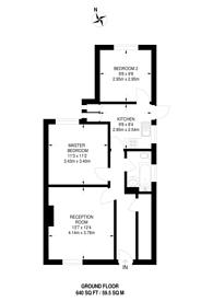Large floorplan for Ashbourne Avenue, Harrow, HA2