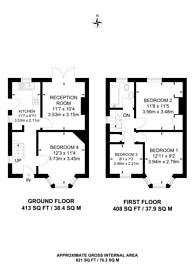Large floorplan for Beech Grove, Guildford, GU2