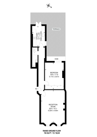 Large floorplan for Stanhope Place, Hyde Park Estate, W2
