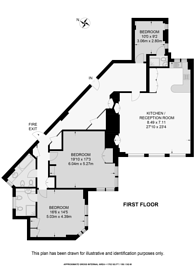Large floorplan for Arlington Street, St James's, SW1A