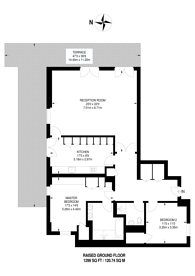 Large floorplan for Admiral Square, Chelsea, SW10