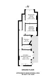 Large floorplan for Nevis Road, Nightingale Triangle, SW17