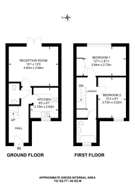 Large floorplan for Clifford Road, Walthamstow, E17