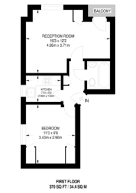 Large floorplan for Stokenchurch Street, Parsons Green, SW6