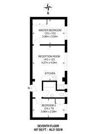 Large floorplan for Abercorn Place, St John's Wood, NW8