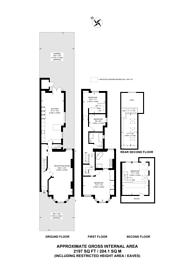Large floorplan for Highlever Road, North Kensington, W10