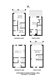 Large floorplan for Palace Wharf, Hammersmith, W6