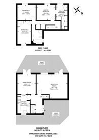 Large floorplan for Newby Street, Battersea, SW8