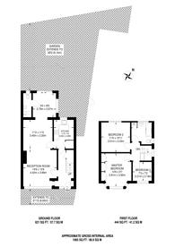 Large floorplan for Buckingham Close, Hampton, TW12