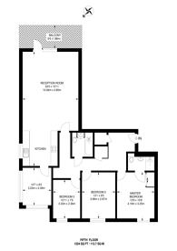 Large floorplan for High Street, Brentford, TW8