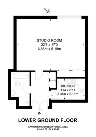 Large floorplan for Knightsbridge, Knightsbridge, SW7