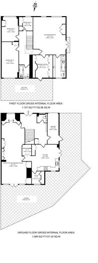 Large floorplan for Darwin Close, New Southgate, N11