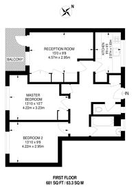 Large floorplan for Marchwood Close, Camberwell, SE5