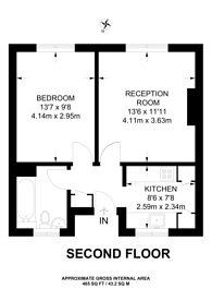 Large floorplan for Claremont Road, Forest Gate, E7