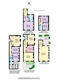 Large floorplan for St Marys Terrace, Little Venice, W2