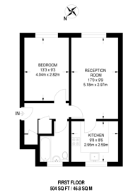 Large floorplan for Berwick Road, Canning Town, E16