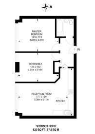 Large floorplan for St Anns Road, Harrow, HA1