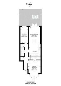Large floorplan for Larkfield Avenue, Kenton, HA3