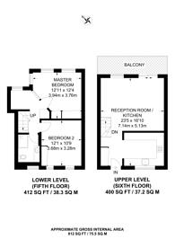 Large floorplan for St Katharine Docks, St Katharine Docks, E1W
