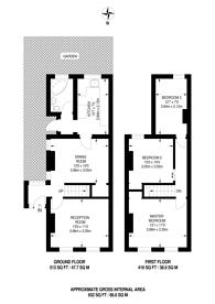 Large floorplan for Boston Road, Croydon, CR0