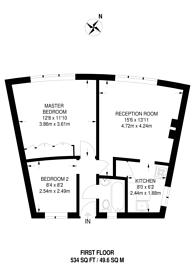 Large floorplan for High Street South, East Ham, E6