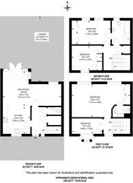 Large floorplan for Belmont Mews, Wimbledon Common, SW19